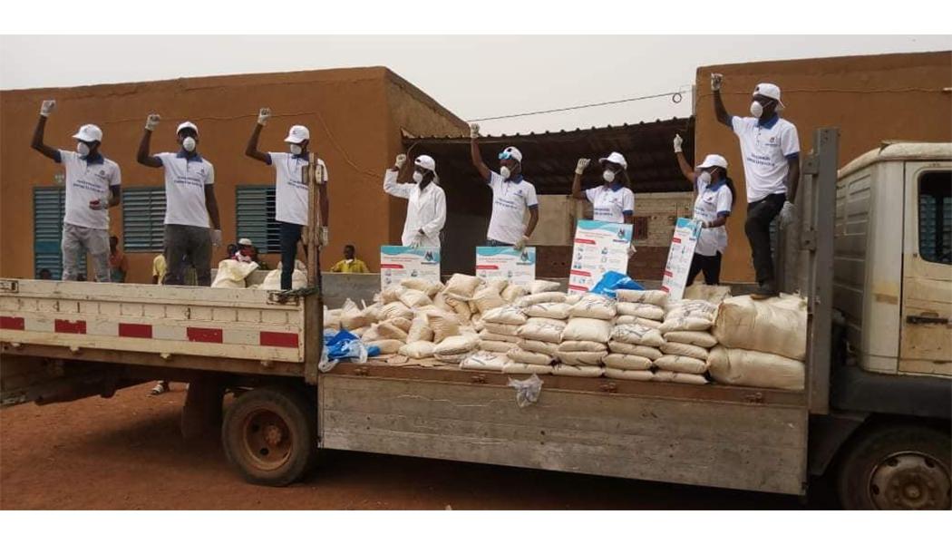 Solidarité Nationale : MEGAMONDE apporte son aide aux personnes démunies
