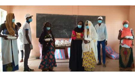 Burkina Coronavirus : le double geste de MEGAMONDE à l'endroit des déplacés internes de Hamdalaye